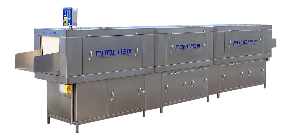 Forchem mp 150 2s box washer with 2 drying modules