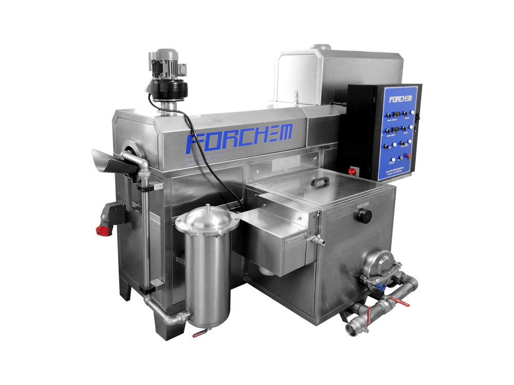 Industrial drum washing machine FORCHEM DM 40-250-1B